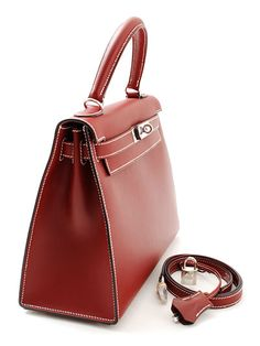 Rakuten: It is HERMES HERMES Kelly 28A rank rouge Ashe D carved seal US $ 6,527.38