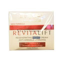 Crema de noapte anti-riduri regenerativa L Oreal RevitaLift Regenerating Night Cream Anti-Wrinkle + Firming