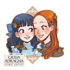 """Giulia 🍓 #ML comic artist on Instagram: """"Impatiently waiting for Anne with an E season 3! And suddenly, here's my new Anne of Green Gables designs for wooden keychains: Anne and…"""" Anne Of Green Gables, Anne Green, Emma Jane Austen, Gilbert And Anne, Anne White, Anne With An E, Anne Shirley, Dibujos Cute, Period Dramas"""