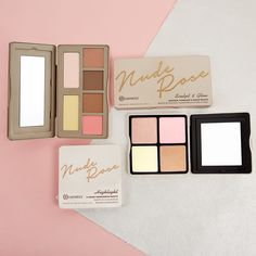 BH Cosmetics | Nude Rose Sculpt and Glow and Nude Rose Highlight Palette Can Makeup, Beauty Makeup, Walmart Makeup, Glow Palette, All Things Beauty, Beauty Stuff, Cruelty Free Makeup, Contouring And Highlighting, Bh Cosmetics