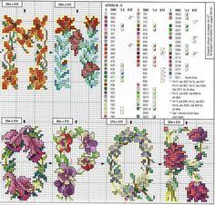 abecedario flores 3