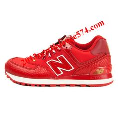 New Balance ML574SRE Year of Snake 2013 Fire Red Golden women shoes,Half Off New Balance Shoes 2013 Cheap