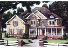 Terilyn - Home Plans and House Plans by Frank Betz Associates