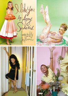 Amy Sedaris  Need to get this book for the summer!
