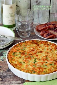 Quiche Muffins, Hungarian Recipes, Special Recipes, Baked Goods, Macaroni And Cheese, Casserole, Food And Drink, Salad, Dishes