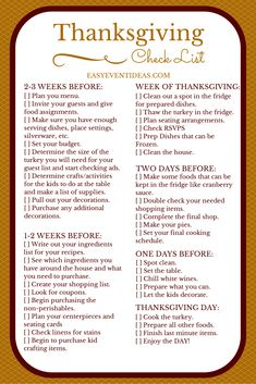 Its Thanksgiving time everyone! So I have created this easy and free Thanksgi Its Thanksgiving time everyone! So I have created this easy and free Thanksgiving Checklist for you to enjoy! Source by Sgionetbowland Thanksgiving Menu List, Thanksgiving Countdown, Free Thanksgiving Printables, Hosting Thanksgiving, First Thanksgiving, Thanksgiving Traditions, Thanksgiving Parties, Traditional Thanksgiving Dinner, Thanksgiving Decorations