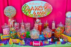 candyland themed relay for life - Google Search