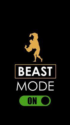 Beast Mode ON iPhone Wallpaper Iphone Wallpaper Images, Wallpaper Stickers, Mobile Wallpaper, Wallpaper Quotes, Iphone Wallpapers, Wallpaper Wallpapers, Beast Wallpaper, Shiva Wallpaper, Swag Quotes