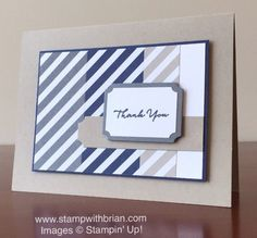 What I Love, Stampin' Up!, Brian King