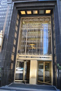 art deco – Here & Abroad Modern Entrance Door, Retail Facade, Hotel Door, Art Nouveau, Loft, Art Deco Buildings, Building Facade, Shop Front Design, Facade Design
