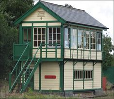 Dereham Central signal box is at Dereham station on the Mid-Norfolk Railway. Seaside Village, Seaside Towns, Ho Trains, Model Trains, Old Train Station, Norfolk England, Steam Railway, British Rail, Train Pictures