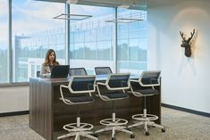 Symantec Offices - Mountain View - Office Snapshots Featuring turnstone Big Table