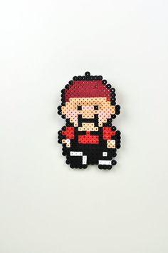 Perler Bead Magnet Super Nintendo Earthbound Apple Kid