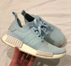 89bacb7a2f2 Womens Adidas NMD R1 Primeknit Boost France Ice Blue Size 8 PK  fashion   clothing