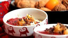 Ris à la Malta, uten gluten og laktose (Foto: Fra TV-serien Tinas julekjøkken/TV4)