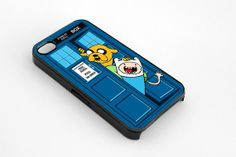 Adventure time/Doctor Who phone case