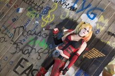Blank Space : Arkham City : Harley Quinn by Lossien