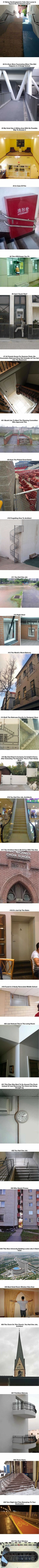 Architects who had one job and still failed