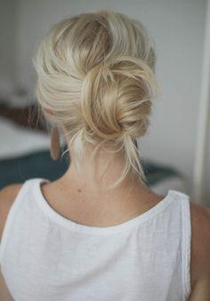 Bruidskapsel inspiratie: de chignon | ThePerfectWedding.nl