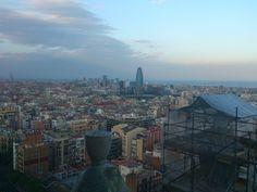 Visitas Guiadas Construmat Experience 2013 #ConstrumatExperience #tour #SagradaFamilia #Barcelona #Vistas