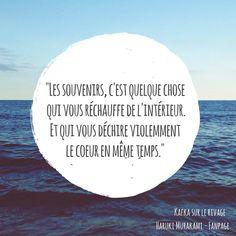 """Les souvenirs... avec """"Kafka sur le rivage"""", roman culte et magnifique signé Haruki Murakami."""