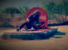When it comes to adrenaline activities South Africa is king, and the North West province is up there with the best of them! Hover crafting is one of many of a diverse range of adventure and adrenaline leisure pursuits offered at Sun City's. North West Province, Military Crafts, Mountain Bike Races, Adventure Center, Rescue Vehicles, Sun City, Adventure Activities, South Africa, Things To Come