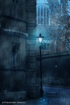 Rainy Night in Cambridge by Veronika Velkova, via 500px