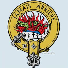 MacArthur Clan Crest: The legends of King Arthur are well known and historically contradictory. Douglas Tartan, History And Heraldry, Scottish Clan Tartans, Tartan Kilt, Emblem, Family Crest, Crests, My Heritage, Coat Of Arms