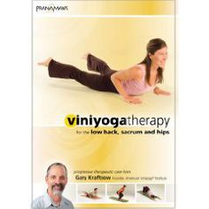 Viniyoga Yoga Therapy for The Low Back, Sacrum and Hips with Gary Kraftsow (DVD)
