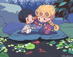 Jojo's Bizarre Adventure Anime, Jojo Bizzare Adventure, Chibi, Johnny Joestar, Jojo Parts, Sad Pictures, Jojo Memes, Cartoon Games, Cool Animations