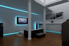 Home lighting: 25 Led lighting ideas - Little Piece Of Me