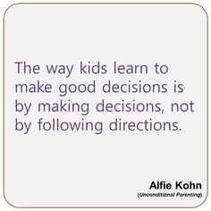 The truth about homework by alfie kohn