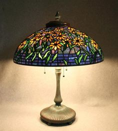 "2013 Lamps 2nd. Place  ""REPRODUCTION BLACK EYED SUSAN LAMP"" by James"