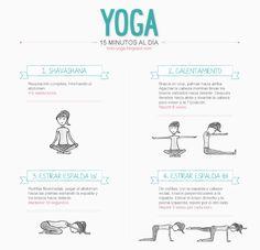 infografia ejercicios Yoga