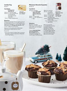 The Costco Connection - November/December 2017 - 48 Brownie Cupcakes, Mini Cupcakes, Ghirardelli Brownie Mix, Sockeye Salmon, Earl Grey Tea, Salmon Salad, Macaroons, Recipe Using, Connection