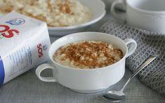 Descubre la mejor receta del arroz con leche casero Cereal, Oatmeal, Breakfast, Gastronomia, Dishes, Kitchen, Homemade Desserts, Fast Recipes, Breakfast Cereal