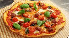 Masterchef pizza dough with semolina Super Moist Chocolate Cake, Margarita Pizza, Masterchef Australia, Cooking Competition, Food Shows, Pizza Dough, Vegetable Pizza, Love Food, Stromboli