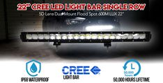 Perfect for any outdoor activity, our durable and affordable led light bars are sure to help keep your road trips bright and safe. Cree Led Light Bar, Led Light Bars, Bar Lighting, Outdoor Activities, The Row, Road Trip, Lens, Lights, Road Trips