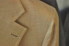 Caliendo jacket lapel stitching