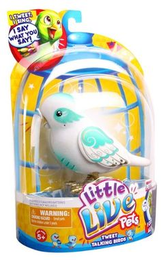 Little Live Pets Bird 2 Angelic Angela Single Pack Playset