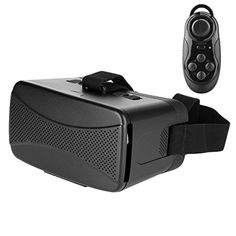 d6be21ae19a4 ZUNCLE 3D VR Glasses Virtual Reality Headset for 35 to 6 inch Smartphone  and Mouse Gamepad