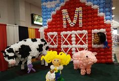 MY MD State Fair in balloons!