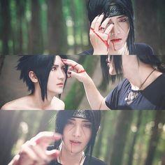 Uchiha Sasuke and Itachi the end of fighting