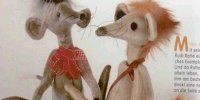 Wonderful site if you enjoy hand made toys - Yes it's in Russian, but Bing Translator helps a lot
