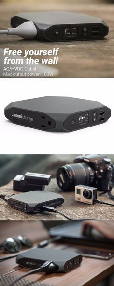 Omnicharge The Ultimate Charging Station for Everything - The Power Bank We've Been All Waiting For - The ultimate Gear Gadget and EDC Everyday Carry @thistookmymoney