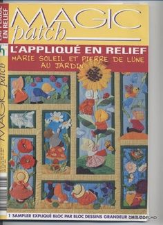 39 Magic Patch Sunbonets Quadros - maria cristina Coelho - Picasa Web Albums...