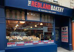 The Redland Bakery Brand & Store Window Design. Bristol