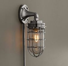 Vanity bathroom lights on pinterest restoration hardware Restoration hardware bathroom sconces