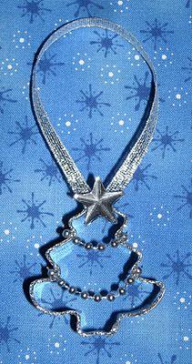cookie cutter ornament