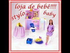 novelinha da Barbie happy family #3 Compra dos móveis do qurto do bebê
